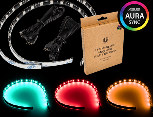 Alchemy 2.0 Magnetic RGB LED Pack-40cmx2